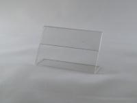 Держатель ценника 60х40 стандартный L-образный, ценник