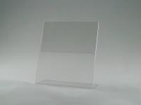 Держатель ценника 100х90 стандартный L-образный, ценник