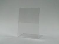 Держатель ценника 60х80 стандартный L-образный, ценник