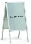 Рекламный штендер А1 двухсторонний