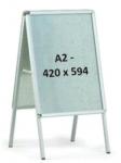 Рекламный штендер А2 двухсторонний
